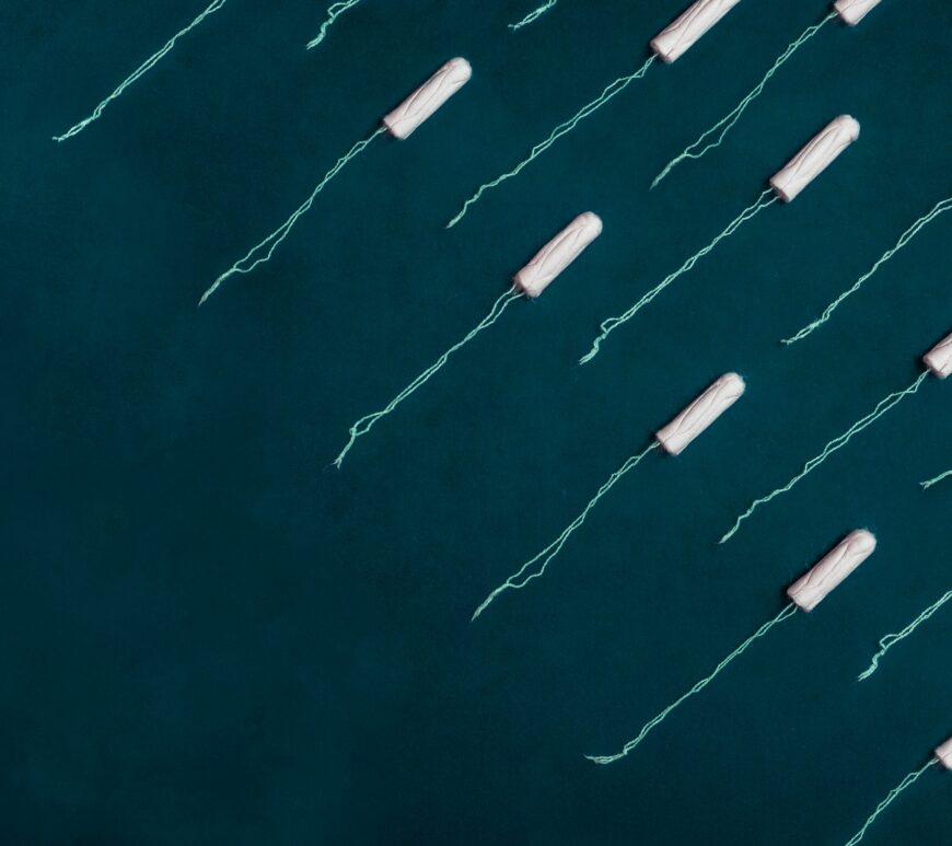tampon, szexsuli, szex menstruáció alatt, menstruáció