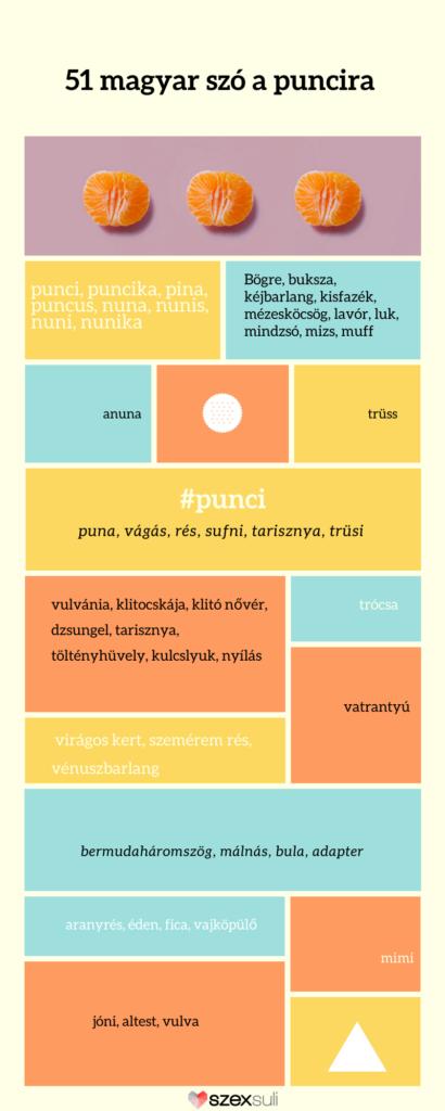 magyar szavak puncira