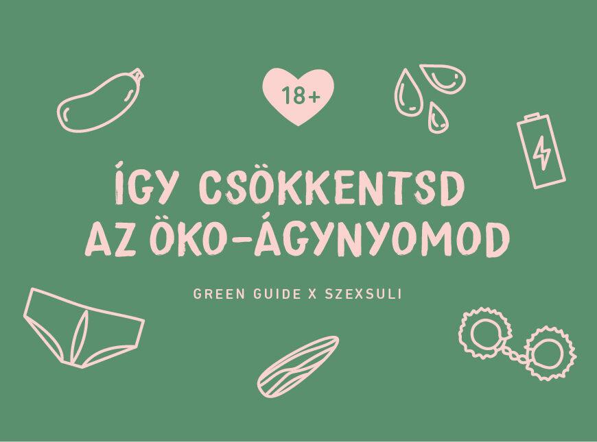 green guide fenntartható szex